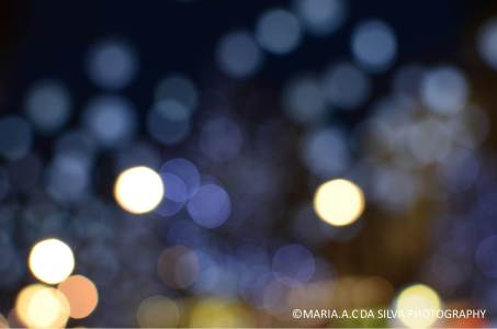 Creating the bokeh effect from the Oxford Street Lights